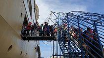 Monitoring Angkutan Laut di Sorong, Kemenhub Minta Pemudik Tertib