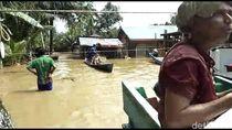 Akses Sulit, Korban Banjir di Solok Selatan Sumbar Kekurangan Makanan