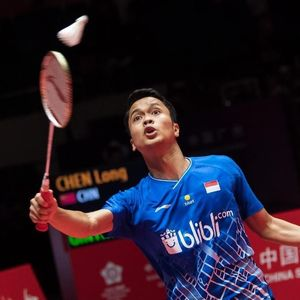 Dijegal Momota, Anthony Ginting Gagal Juarai BWF World Tour Final 2019