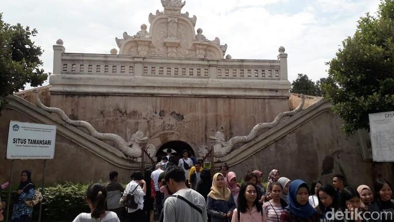 Foto: Taman Sari di Yogyakarta (Pradito Rida Pertana/detikcom)