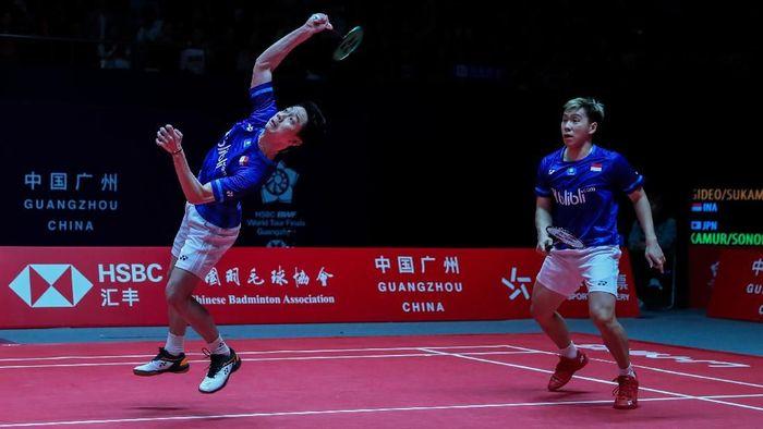 Kevin Gideon/Marcus Sanjaya bakal lebih fokus saat hadapi Endo/Yuta Watanabe.Endo/Yuta Watanabe (Foto: badmintonindonesia.org)