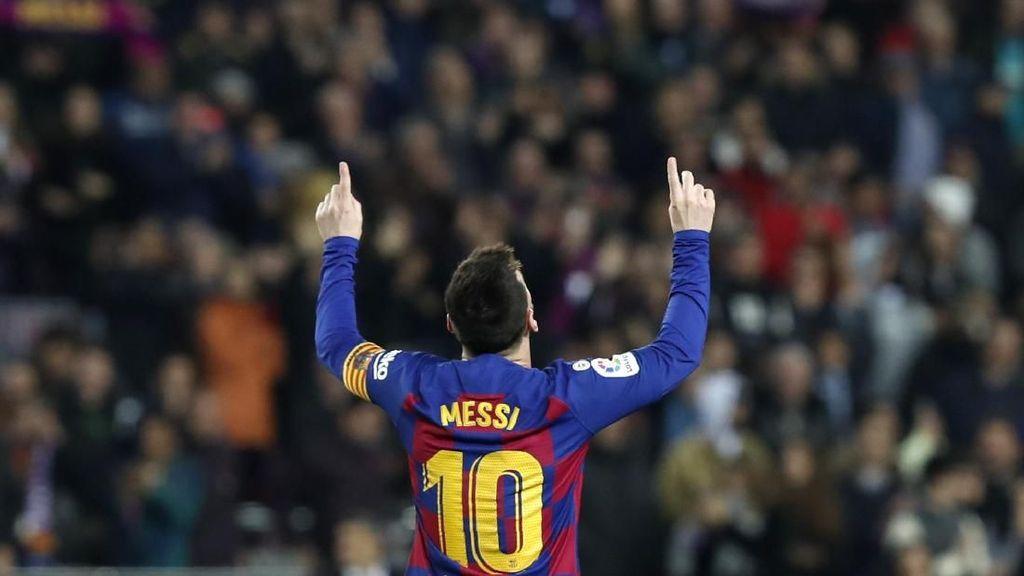 Tak Ada yang Bisa Menghentikan Messi Mencetak Gol