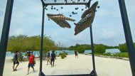 Potret Aneka Instalasi Seni Keren di Kepulauan Seribu