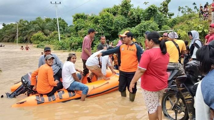 Jambi dilanda banjir. (Foto: dok. Istimewa)