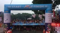 Transmart Jamboree Ditutup 3.000 Peserta Joy Run Transmart Graha