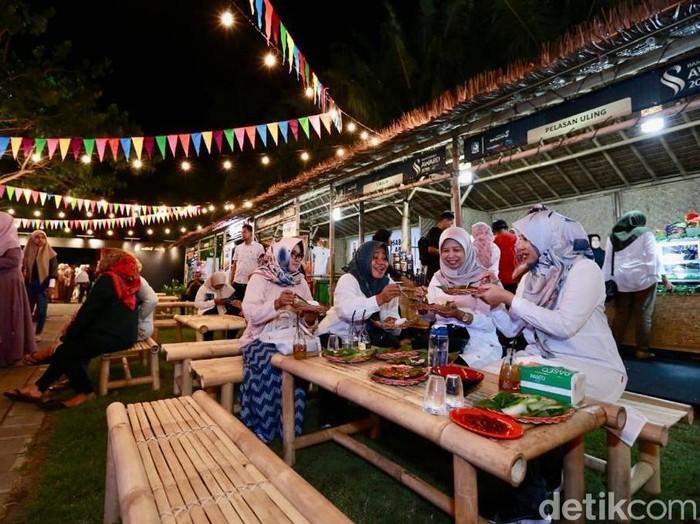 Festival kuliner khas Banyuwangi/Foto: Ardian Fanani