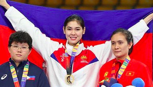Terpana si Cantik dari Arena Teakwondo di SEA Games 2019