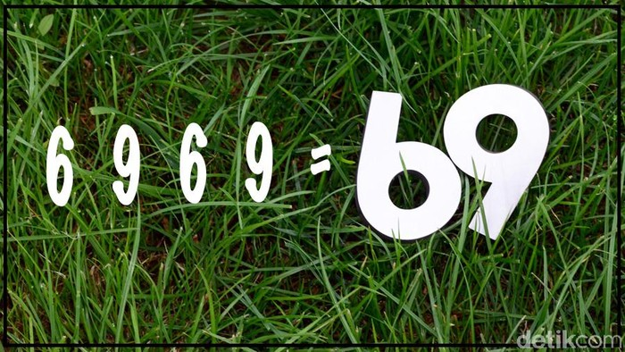 Hanya berkutat dengan angka 6 dan 9, tapi butuh sedikit pemahaman matematika dasar untuk bisa memecahkannya. Foto: Uyung/detikHealth