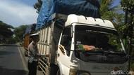 Puluhan Truk di Situbondo Ditilang Karena Kelebihan Muatan