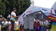 Tingkatkan Kekompakan, Karyawan CT Corps Gelar Charity Fun Walk di Bandung