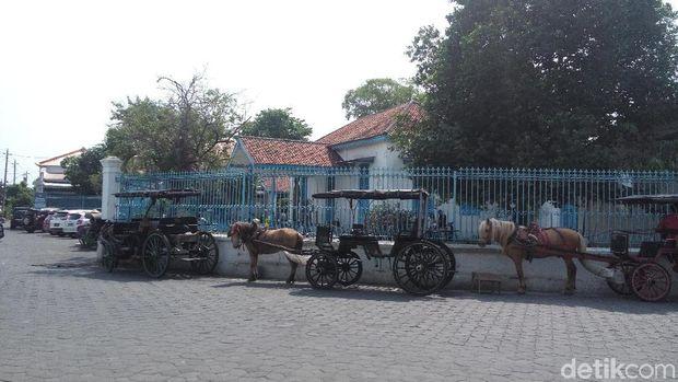 Andong di Museum Keraton, Komplek Keraton Kasunanan Surakarta Hadiningrat