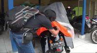Harley Davidson milik penabrak nenek di Bogor.