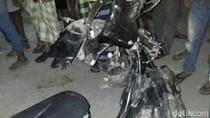 Pemotor Ini Tewas Usai Tabrakan dengan Dua Bikers yang Balap Liar