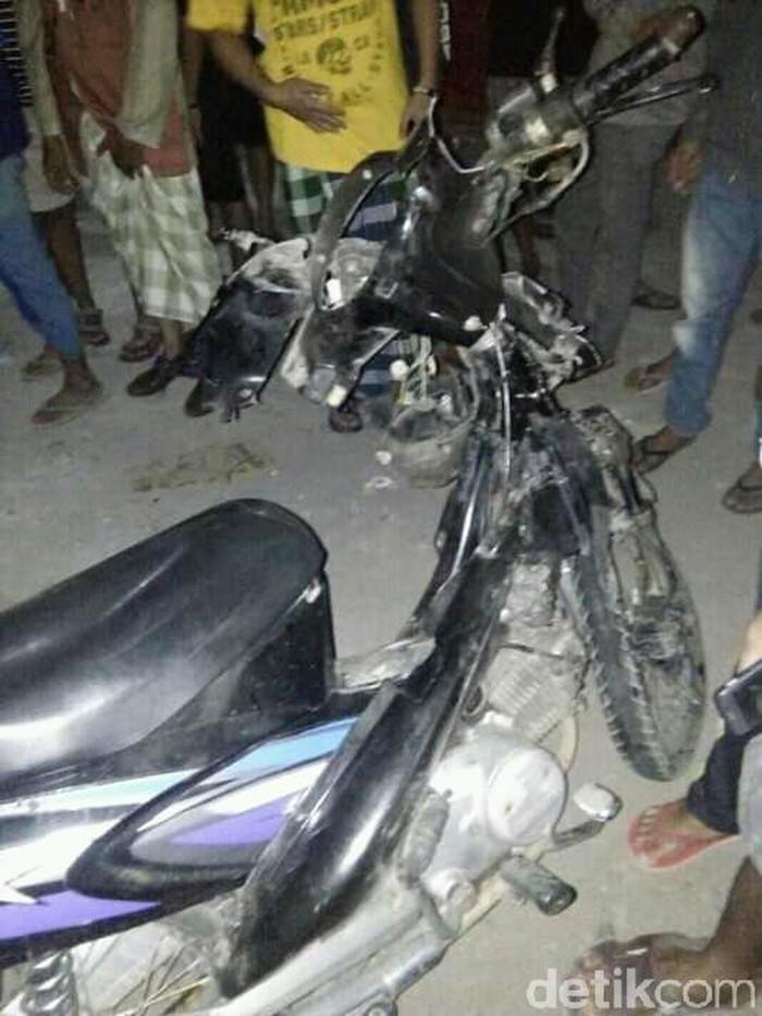 Motor milik korban tewas/Foto: M Rofiq
