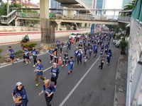 Para Peserta BPJamsostek Relay Marathon