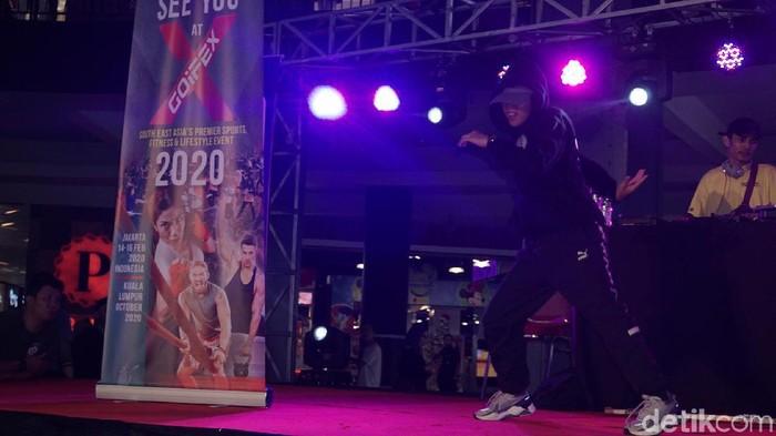 Atlet breakdance Dwi Cindy Desyana (Foto: Nafilah Sri Sagita K/detikHealth)