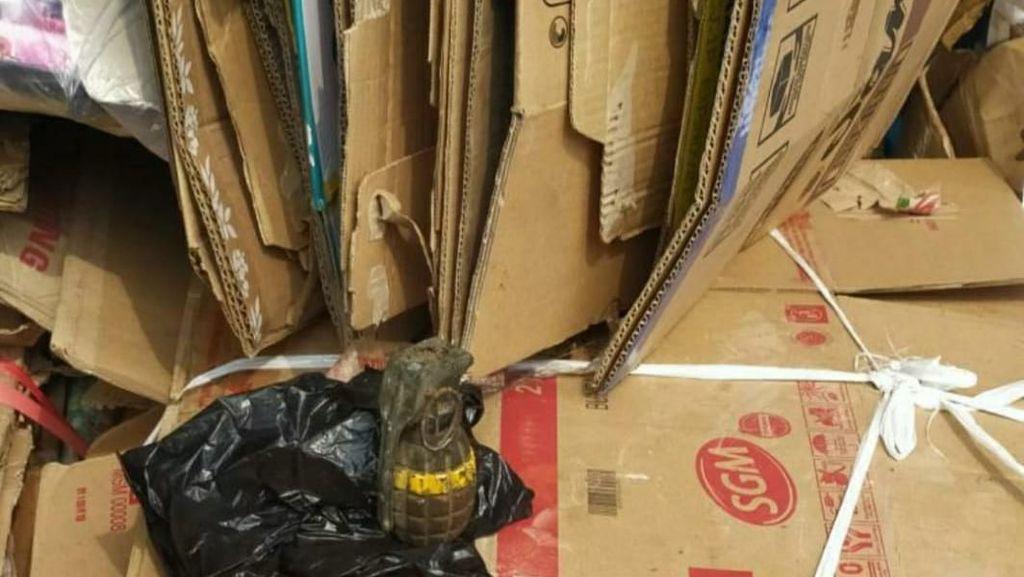 Warga Cimahi Temukan Granat di Gudang Rongsokan, Polisi Turun Tangan