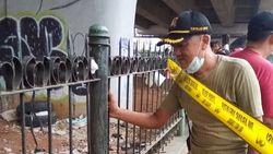 Jasad Bayi Bertali Pusat Ditemukan di Tempat Sampah di Ciputat