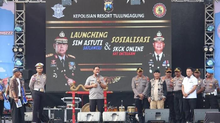 Peluncuran SIM Astuti/Foto: Istimewa