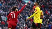 Salah Lewati Gol Luis Suarez di Liverpool