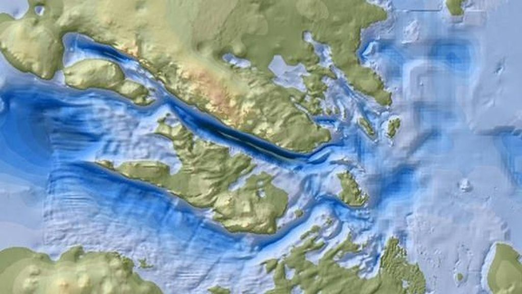 Ilmuwan Temukan Daratan Paling Dalam di Muka Bumi
