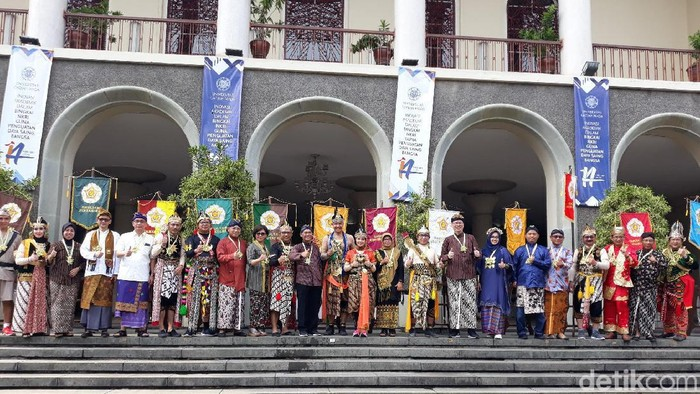 Pawai Budaya Nitilaku UGM 2019. Foto: Pradito Rida Pertana/detikcom