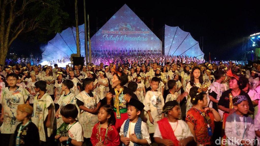 Pelajar-Seniman Cirebon Sampaikan Pesan Perdamaian Lewat Drama Musikal