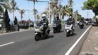 Hari Kedua Touring Honda PCX, Gaspol di Pesisir Pantai Menuju GWK