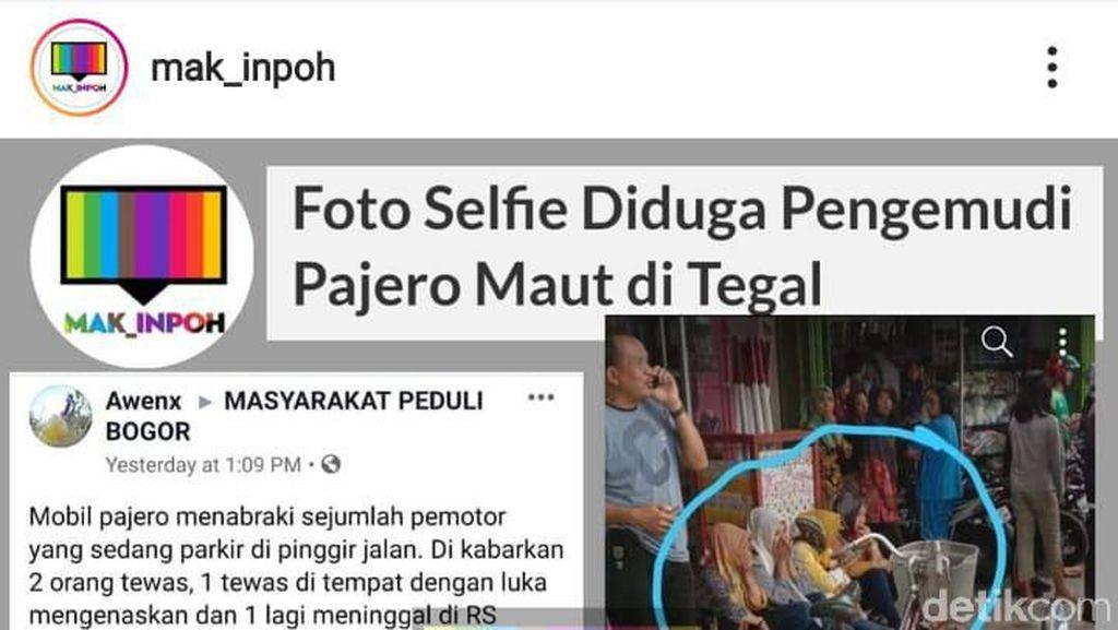 Viral Selfie Usai Tabrak Pemotor Tegal, Bagaimana Kelanjutan Kasusnya?