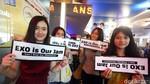 Momen-momen EXO Disambut Donald Trump