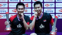 Juara BWF World Tour Finals 2019, Mohammad Ahsan: Amazing!