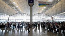 Bandara Hong Kong Alami Penurunan Jumlah Penumpang Terparah