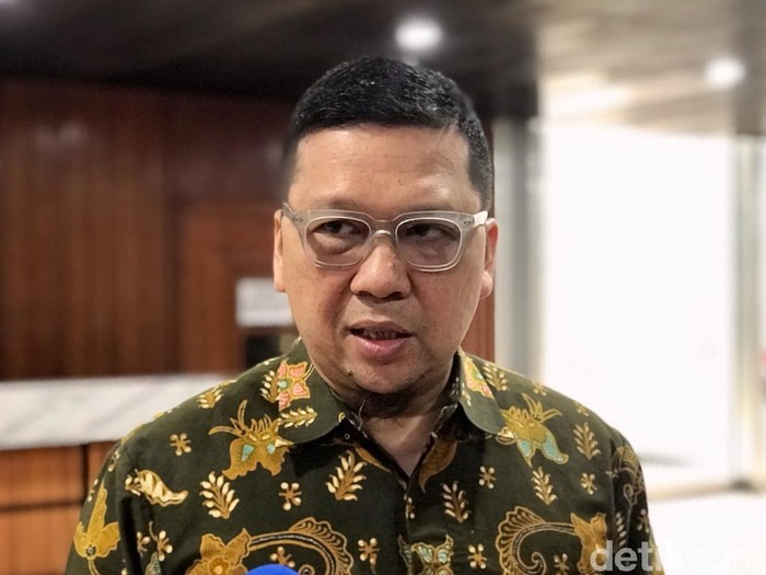 Ketua Komisi II DPR Ahmad Doli Kurnia (Mochammad Zhacky/detikcom)