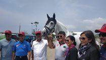 Liga Equestrian Dimulai, Menpora dan Gubernur DKI Resmikan Sekolah Berkuda