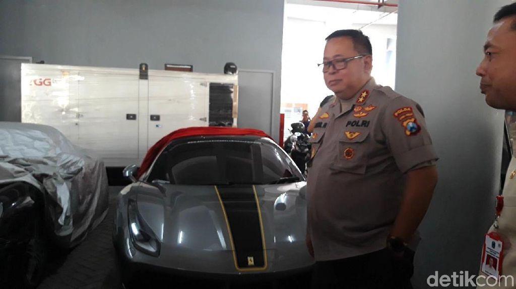 Polisi Jatim Panggil Pemilik Supercar yang Surat-suratnya Tak Lengkap