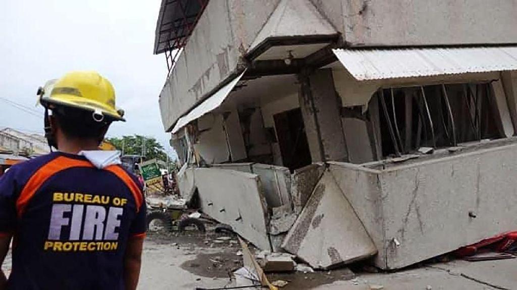 Gempa di Filipina Tewaskan 2 Orang