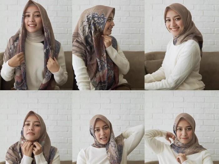 tutorial hijab lebaran
