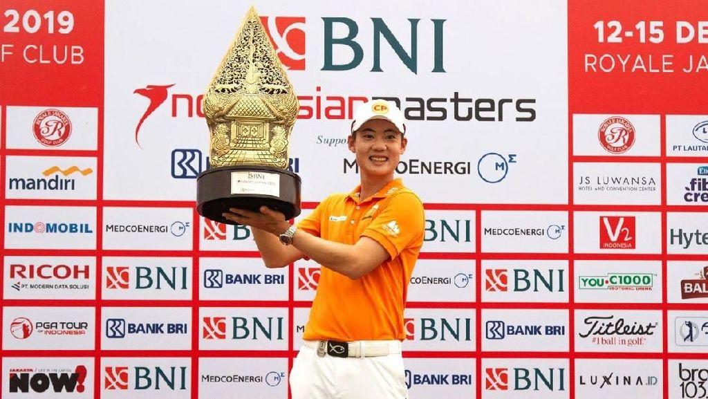 Jazz Janewattananond Juara BNI Indonesian Masters 2019