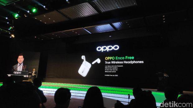 OPPO Kenalkan Wireless Headphone Enco Free di Malaysia