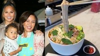 Keren! Kue Ulang Tahun Ibu Chrissy Teigen Berbentuk Semangkuk Pho