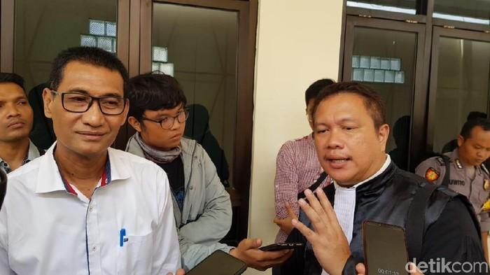 Bupati Kudus Tamzil usai sidang di Pengadilan Tipikor Semarang, 16/12/2019