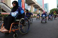 HUT ke-42, BPJAMSOSTEK Gelar Relay Marathon & Raih Rekor Muri