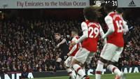 Menggila, City Ungguli Arsenal 3-0 di Babak I