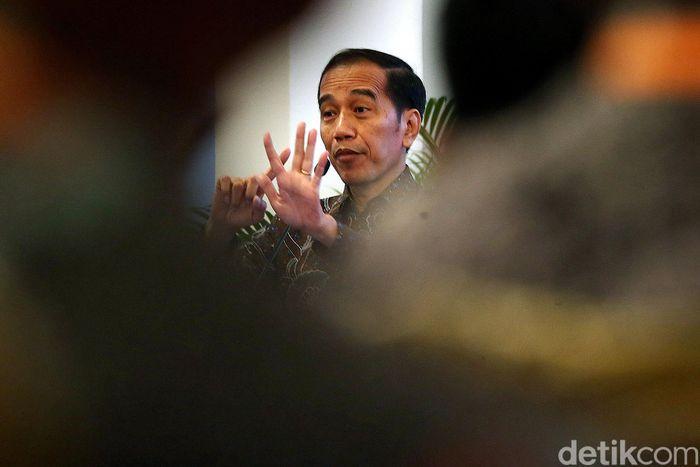 Presiden Joko Widodo (Jokowi) saat membuka Musyawarah Perencanaan Pembangunan Nasional (Musrenbangnas) Rencana Pembangunan Jangka Menengah Nasional (RPJMN) 2020-2024 di Istana Negara, Jakarta Pusat, Senin (16/12/2019).