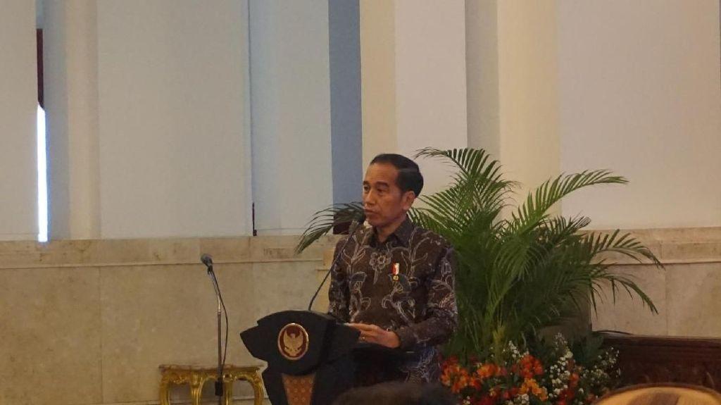 Serius Tangani Stunting, Jokowi Cerita Saat Kecil Makan Telur Dibagi 4