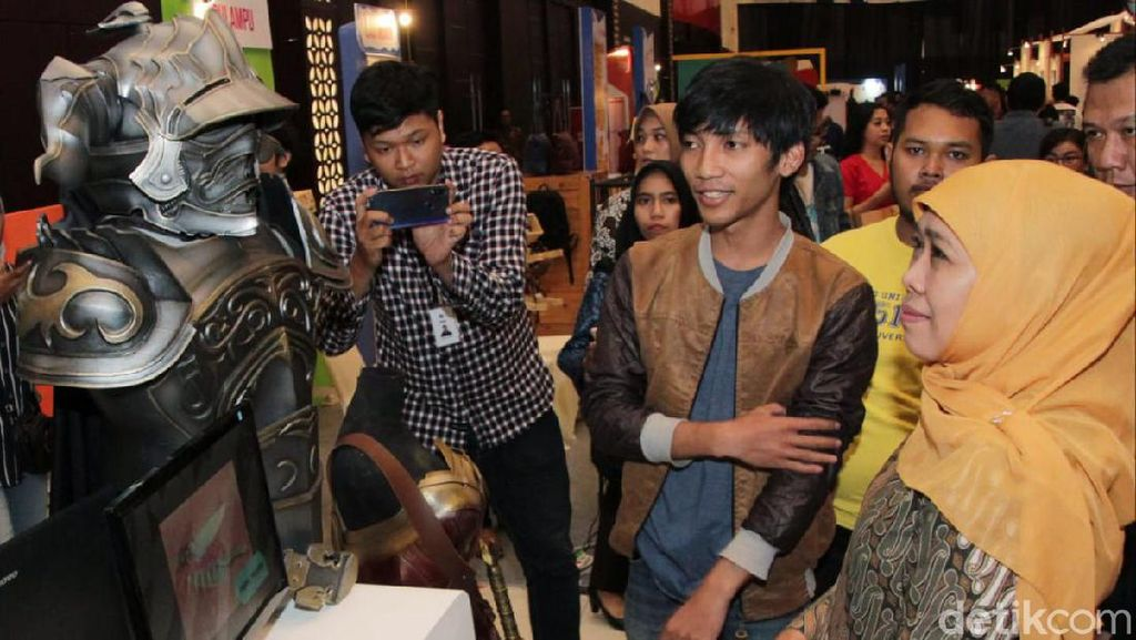 Anak Muda Jatim Didukung Lebih Kreatif Dukung Festival Ekonomi Millenials