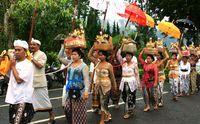 Ilustrasi orang Bali