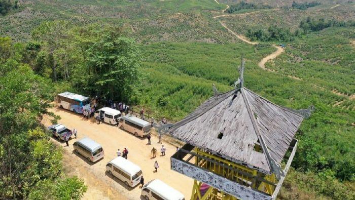 Lokasi Lahan Bendungan Sepaku/Foto: Dok. Kementerian PUPR