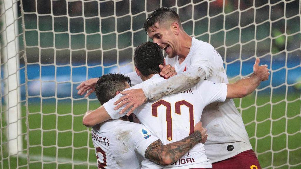 AS Roma Vs SPAL: Sempat Tertinggal, Giallorossi Menang 3-1
