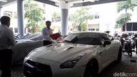 Belasan Ferrari dkk Bodong Disita di Surabaya